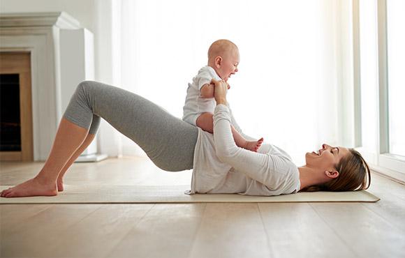 產後媽媽如何健康瘦身